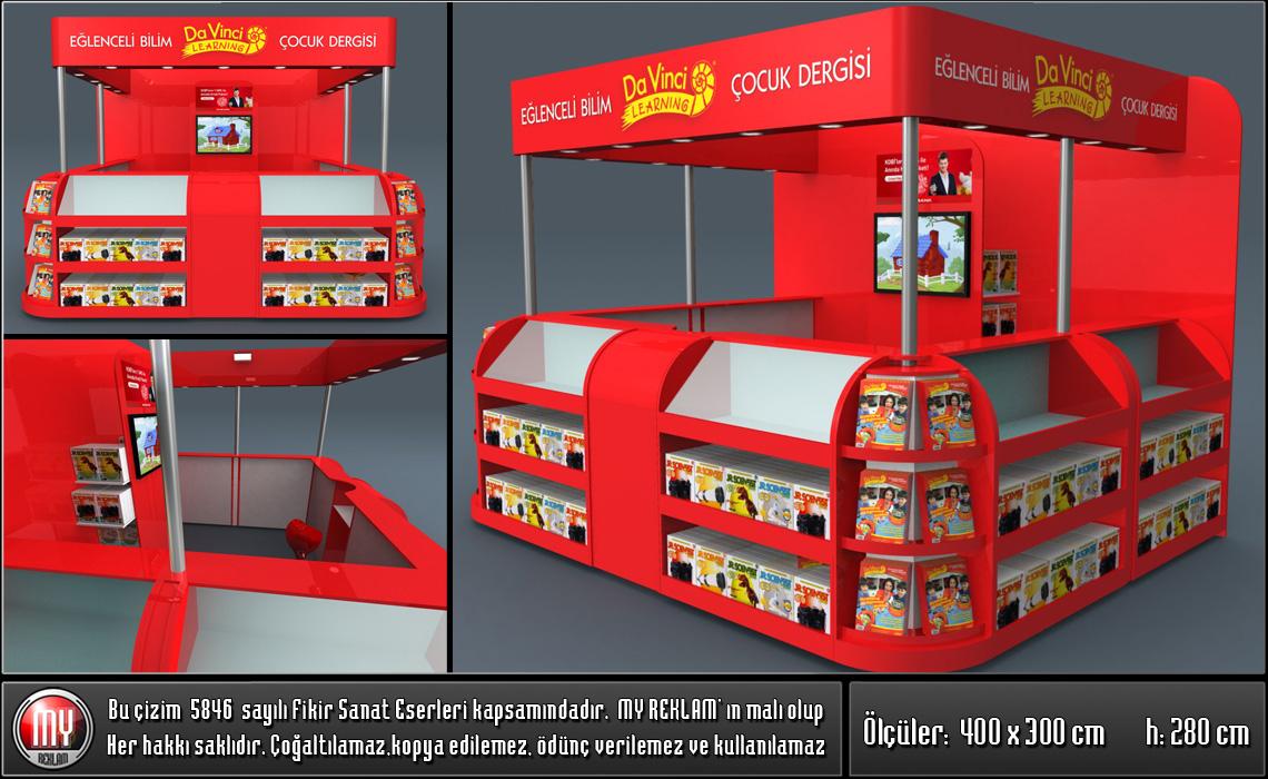 AVM Kiosk Dükkan Büfe